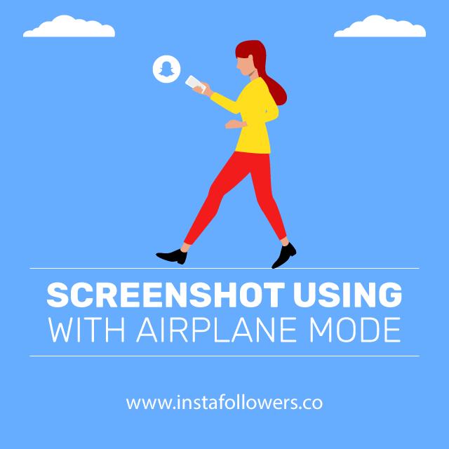 screenshot using with airplane mode