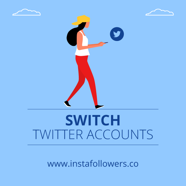 switch twitter accounts