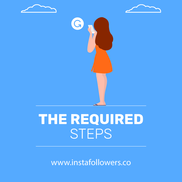 the required steps