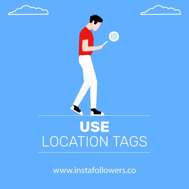 use location tags story views