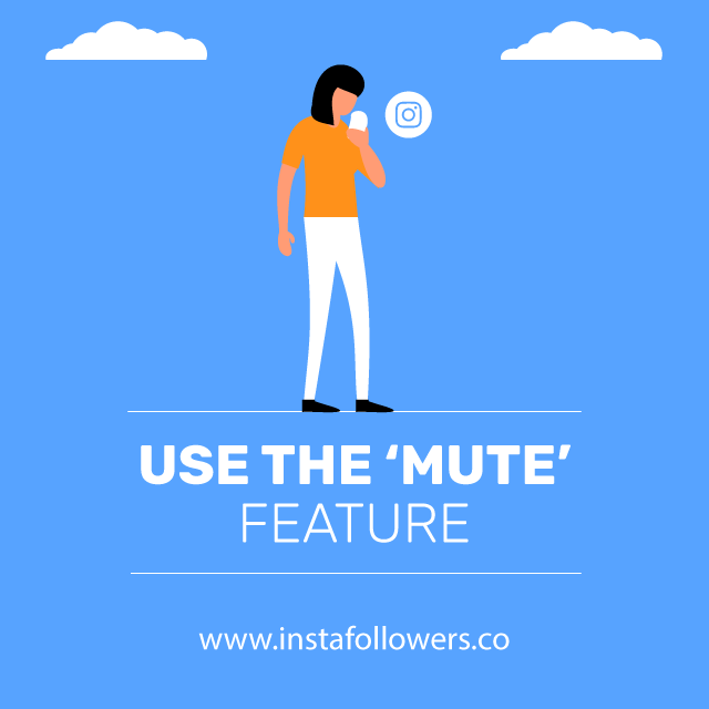 use mute feature