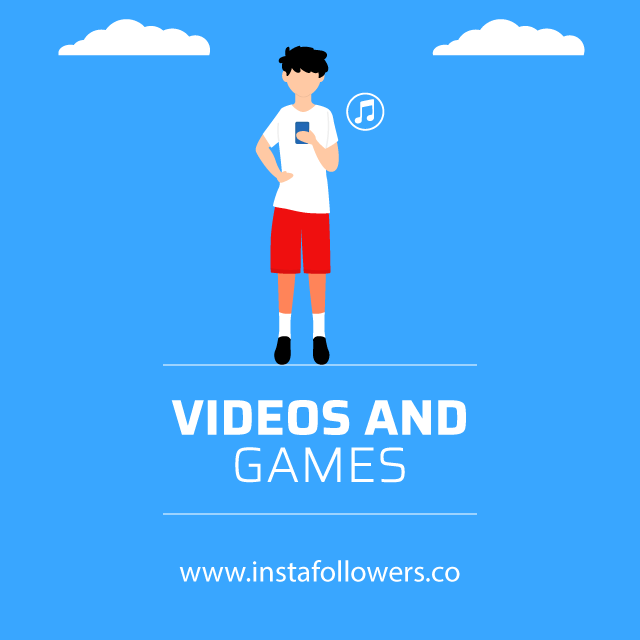 videos and games