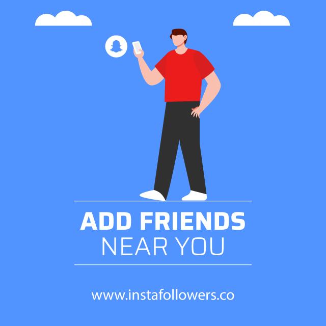add friends near you