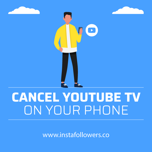 Cancel YouTube TV on Mobile
