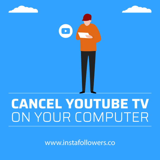 Cancel YouTube TV on Computer