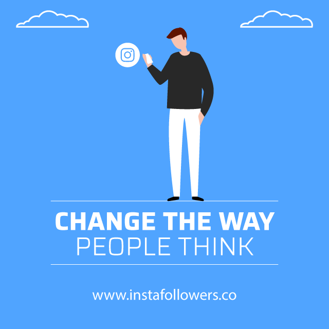 change the way people think