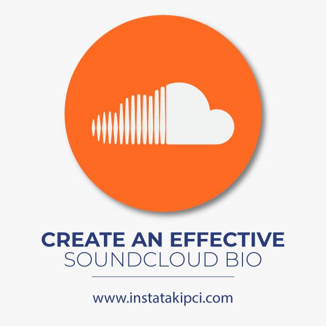 create an effective soundcloud bio
