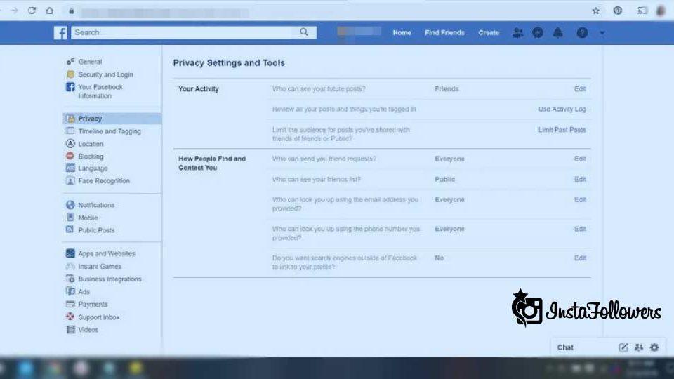 Facebook Private Account
