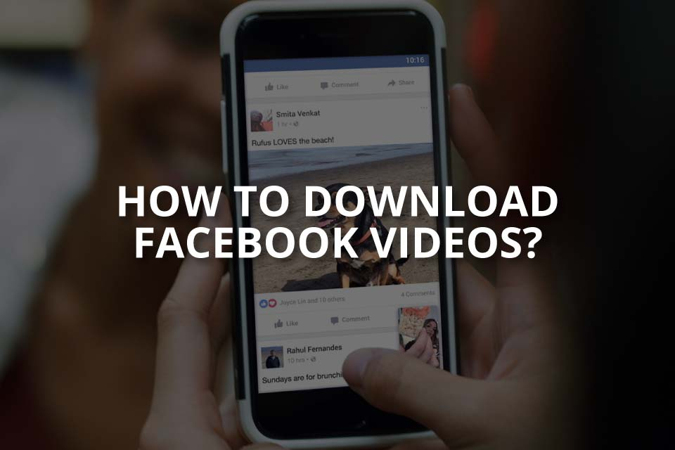 How to Download Facebook Videos?