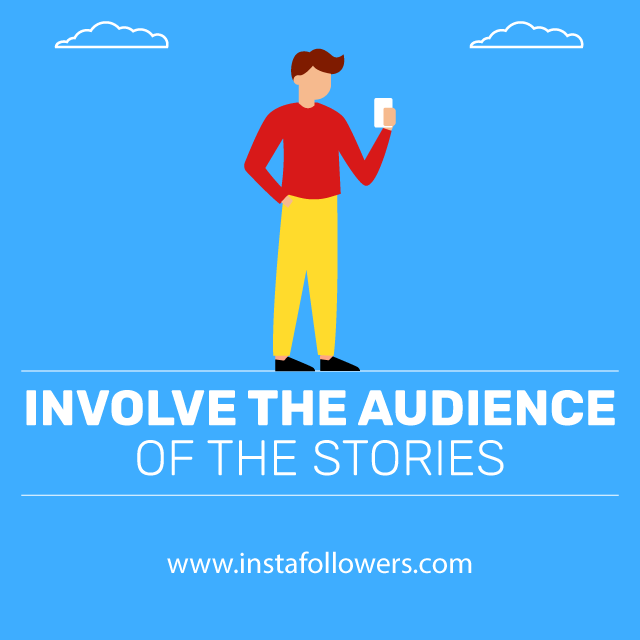 involve the audience of the stories