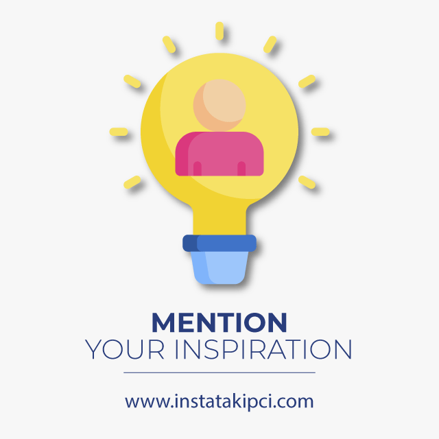mention your inspiration