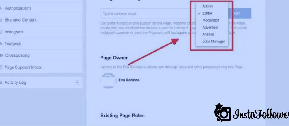 The Different Page Roles on Facebook