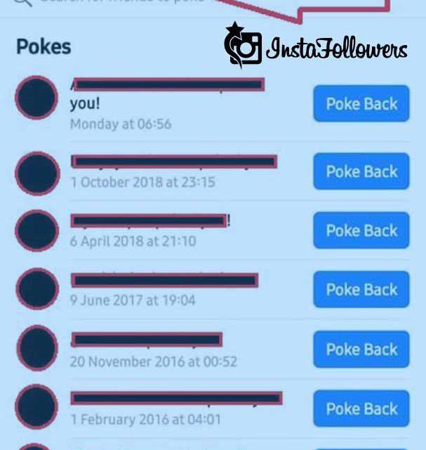 Facebook Poke on Mobile