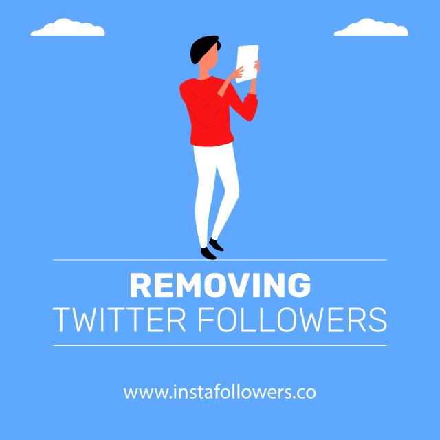 Removing Twitter Followers
