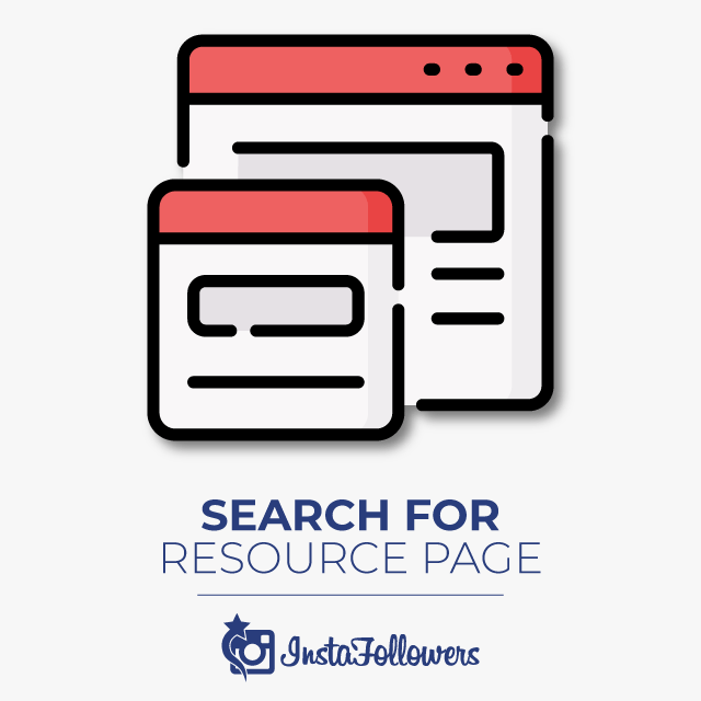 search for resource pages