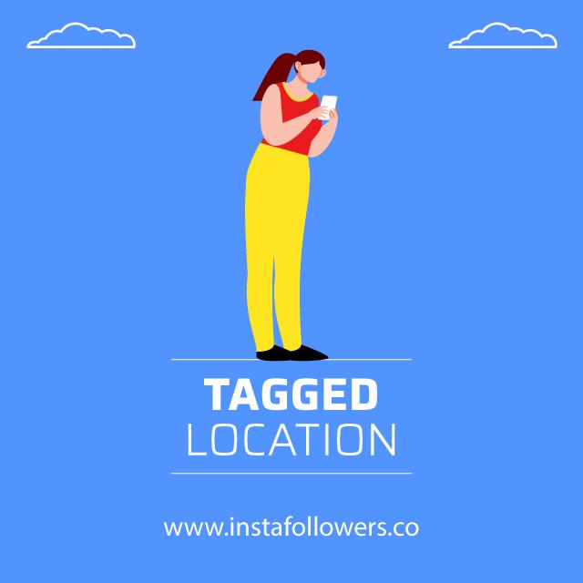 tagged location