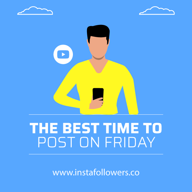 the best time to post on friday