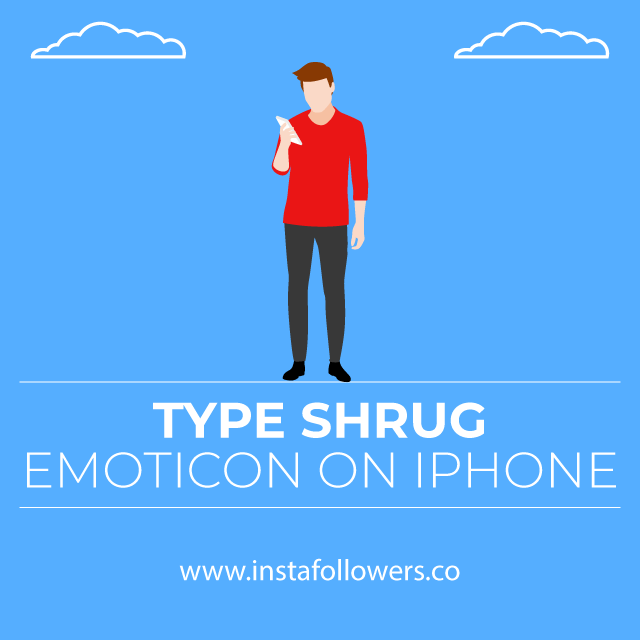 type-shrug-emoticon-on-iphone
