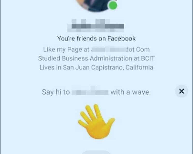 Wave on Messenger Mobile