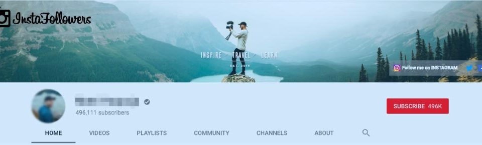 what is a youtube banner