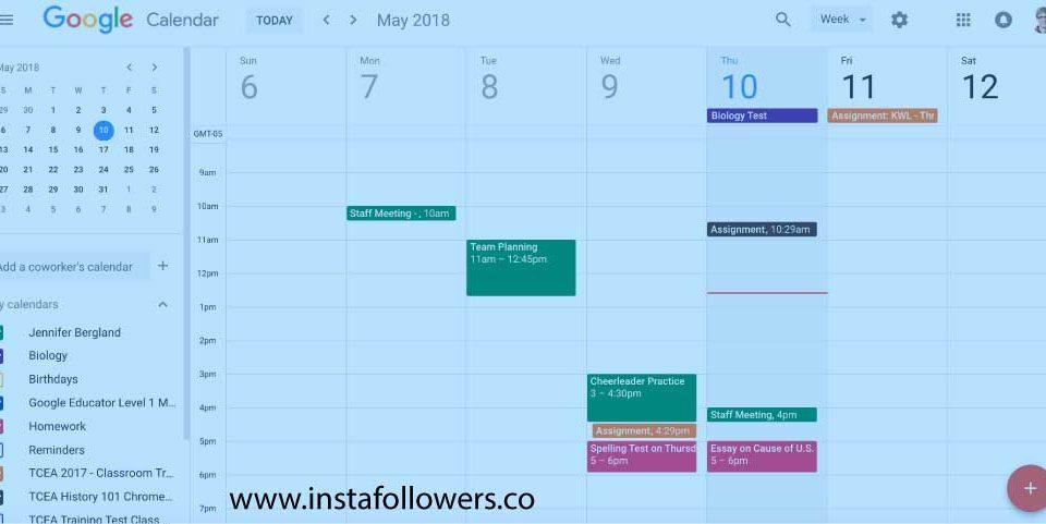Benefits of Sharing Google Calendar