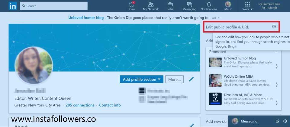 Hide Your LinkedIn Profile