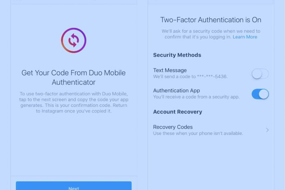 How to Change Your Two-Factor Authentication Number on Instagram