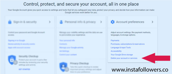 How to Delete an Existing Google Account