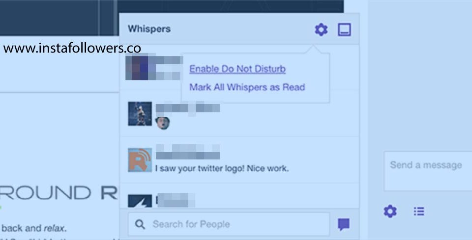 How to Send a Whisper