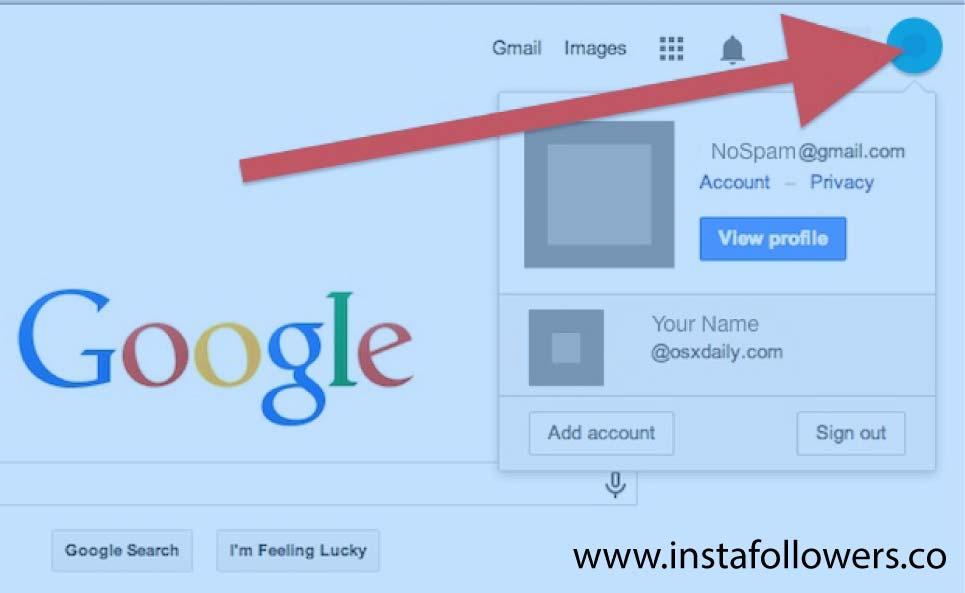 How to Set Default Google Account