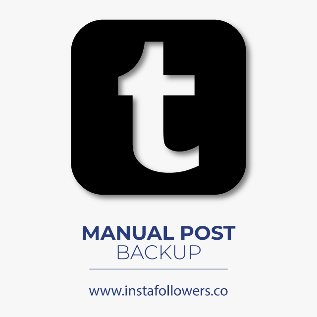 Manual Post Backup