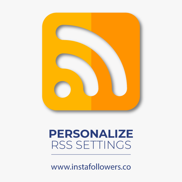 Personalize RSS feed on SoundCloud