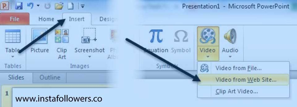 How to Embed a YouTube Video in PowerPoint 2007