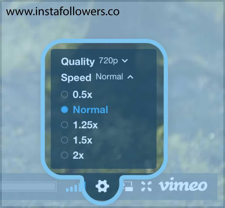 speed options