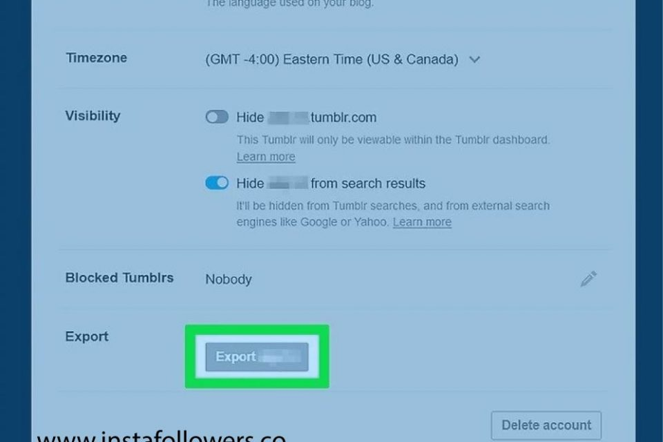 Step by Step Guide on How to Download Your Tumblr Blog