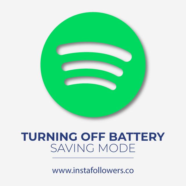 Turning Off Battery Saving Mode