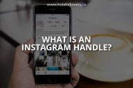 What Is an Instagram Handle? (& IG Language)