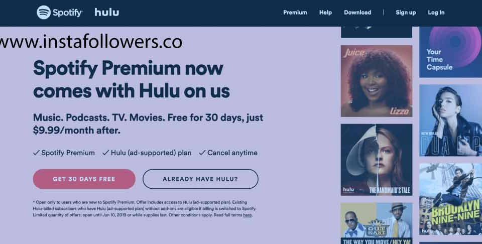 What Do You Need to Do to Get Hulu with Spotify Premium