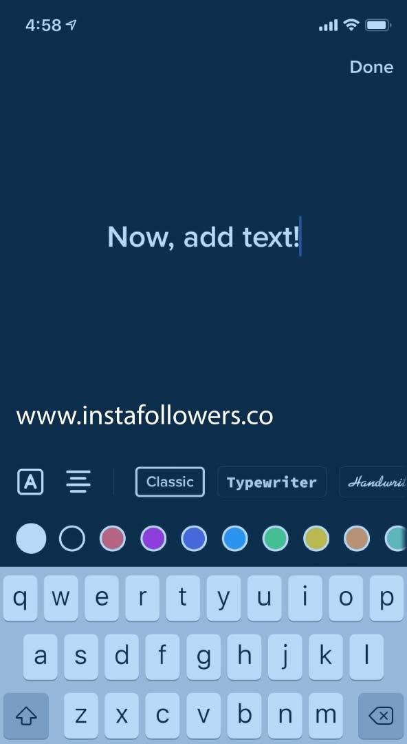 Adding Text on TikTok