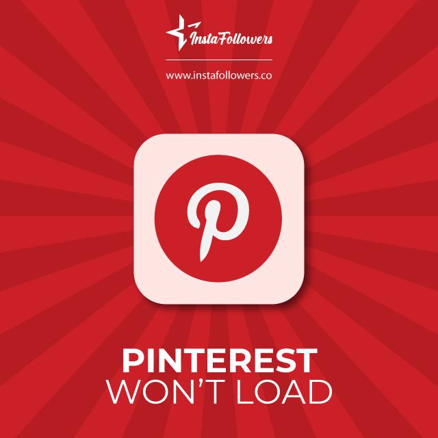 Pinterest not working