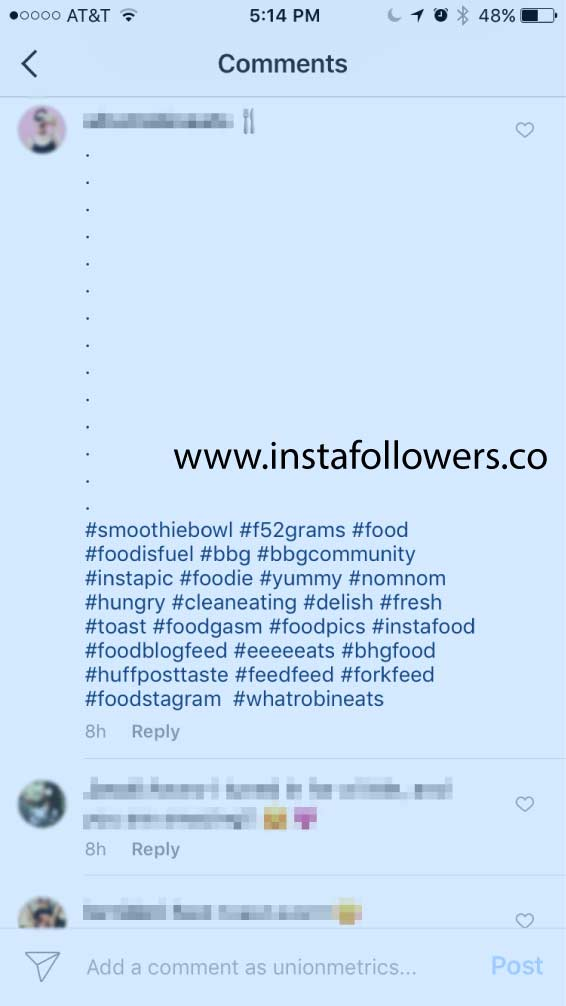 Tags on Instagram