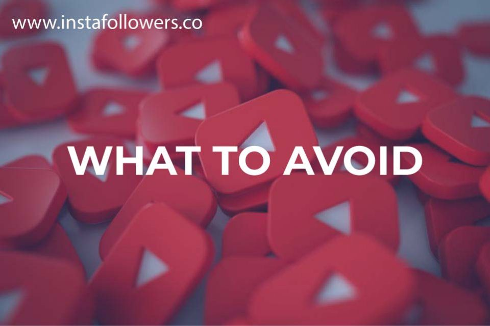 what to avoid