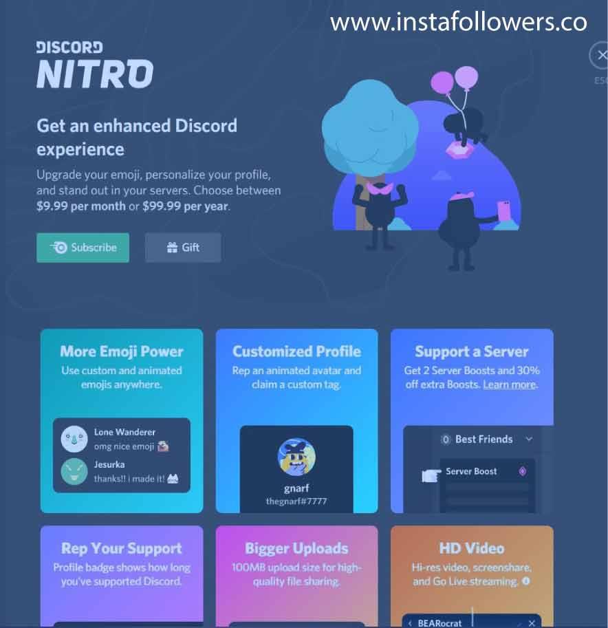 Discord Nitro make money on Discord