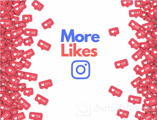 more likes on instagram