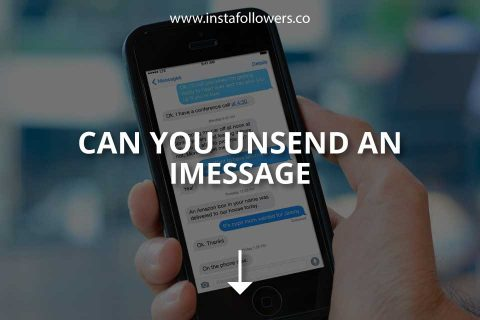 Can You Unsend an iMessage?