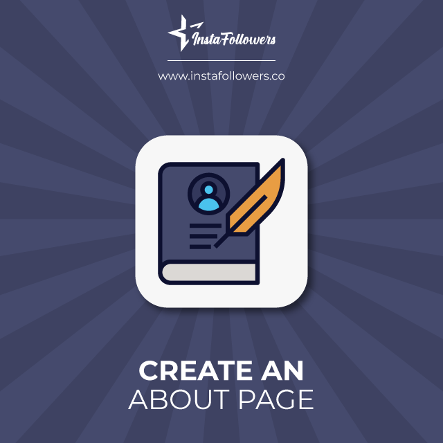 create an about page