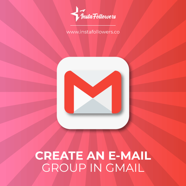 Create an email group in Gmail