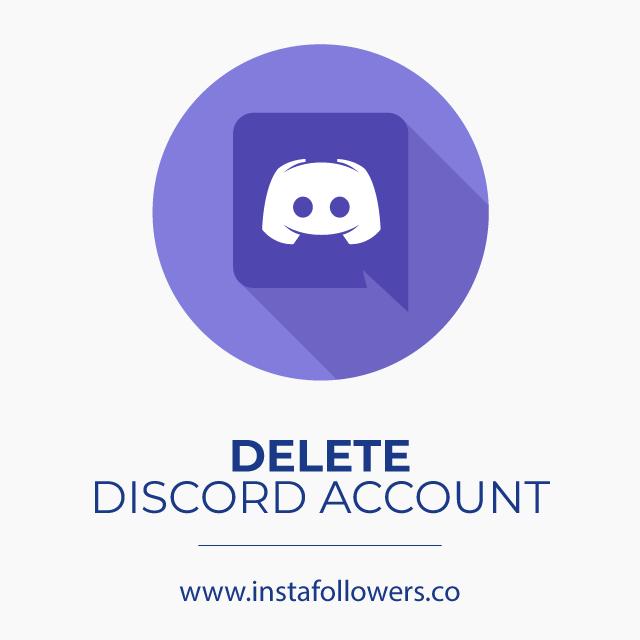 Delete Discord Account