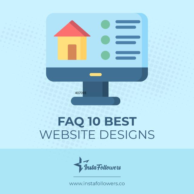 faq on 10 best website designs
