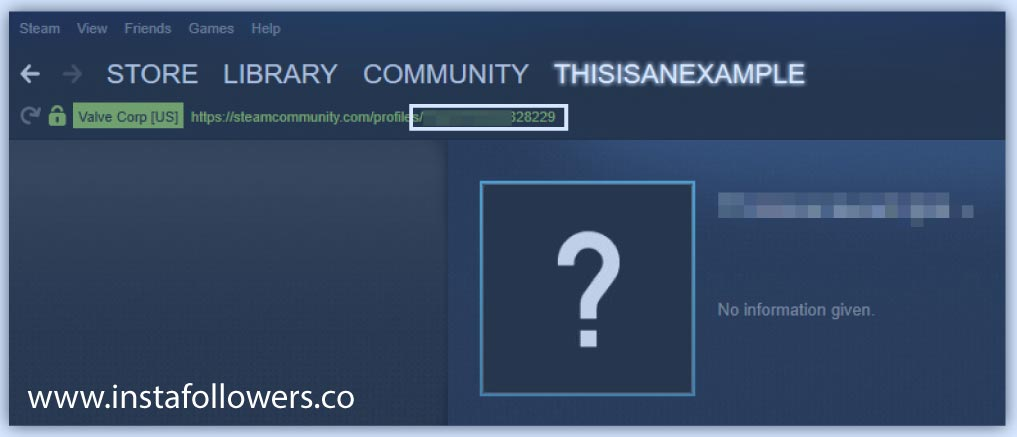 Find your Steam ID